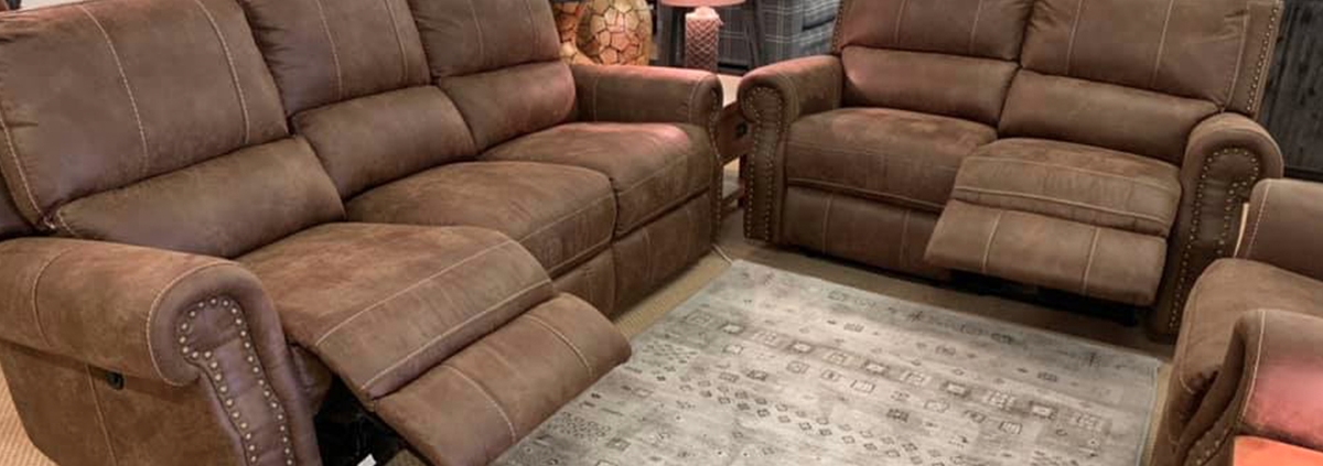 Fabric 3 Seater Electric Reclining Sofas