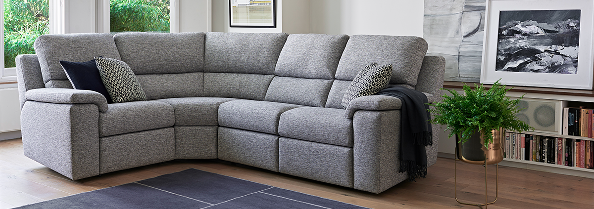 Fabric Corner Sofas