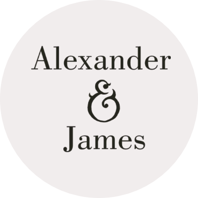 Alexander James Logo