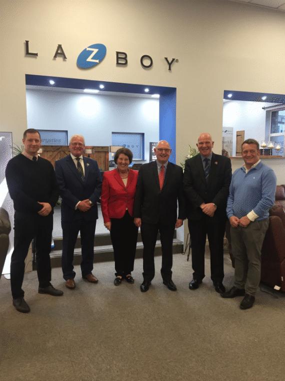 LaZboy gallery launch