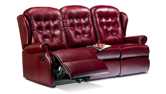 Small 3 Seater Electric Reclining Sofa