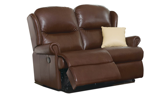 Small 2 Seater Electric Reclining Sofa