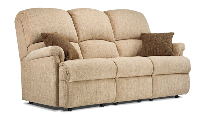 Small 3 Seater Fixed Sofa