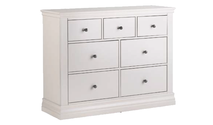 3 Over 4 Drawer Chest