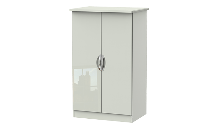 2 Door Plain Midi Wardrobe
