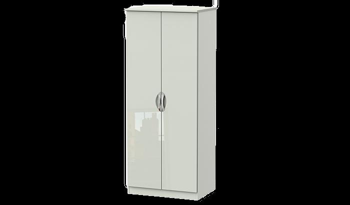 2 Door Plain Wardrobe