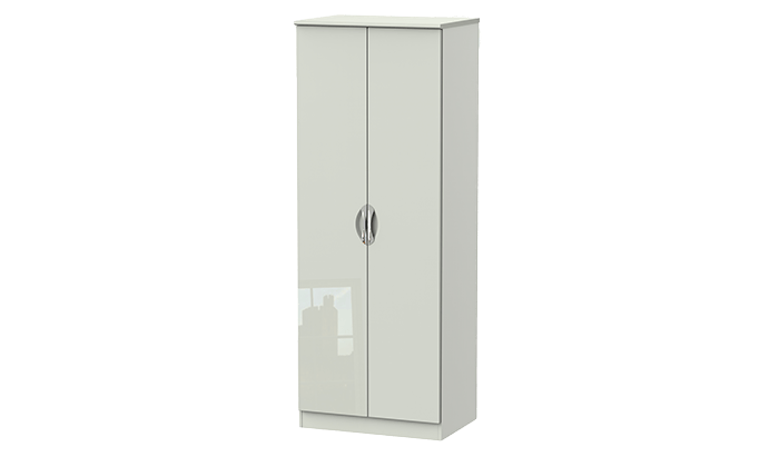 Tall 2 Door Plain Wardrobe