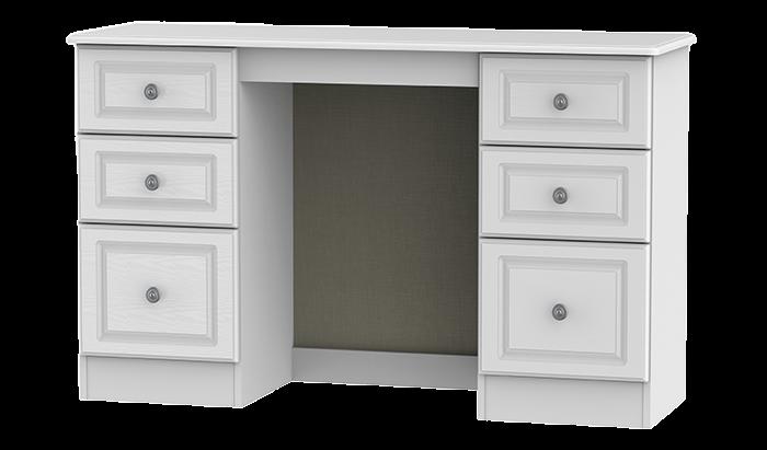 Double Pedestal Dressing Table