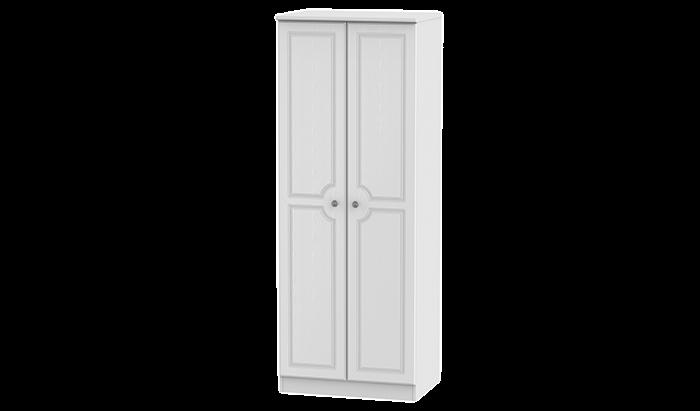 Tall 2 Door Double Hanging Wardrobe
