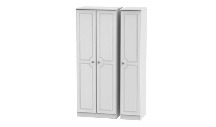 Tall 3 Door Wardrobe